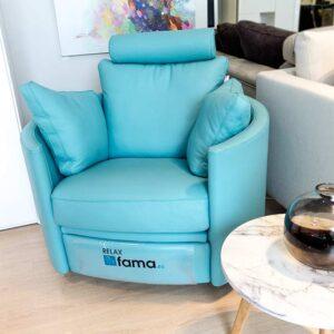 Butaca relax azul
