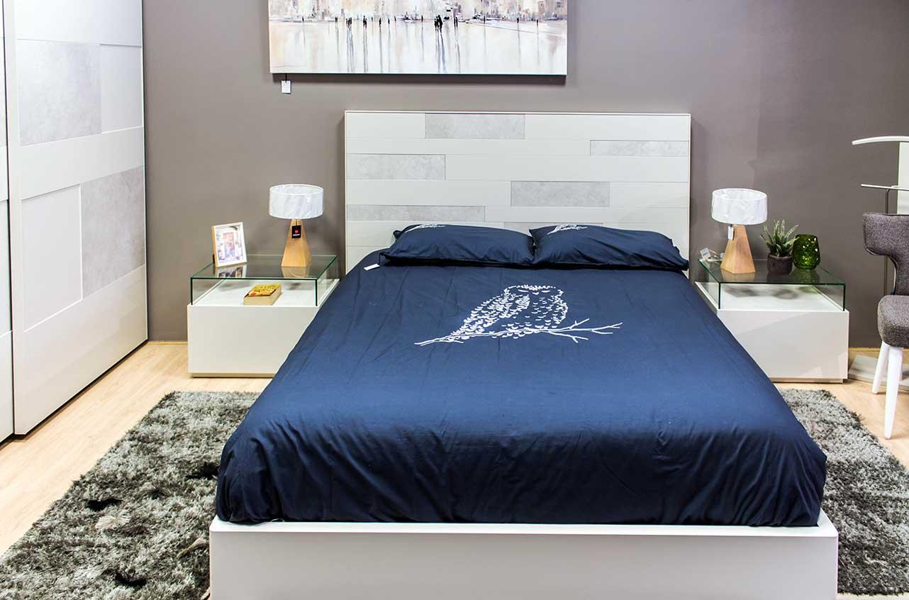 Dormitorio de matrimonio de dise o en madera lacada - Decoracion armarios dormitorios ...