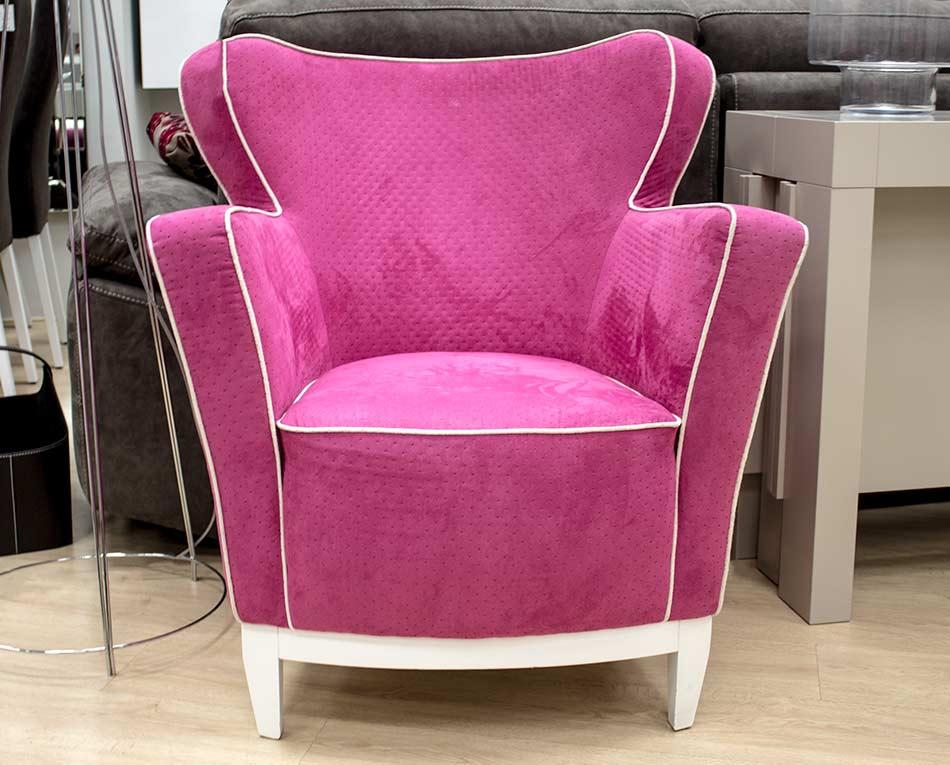 Comprar sillón rosa Vitoria-Gasteiz