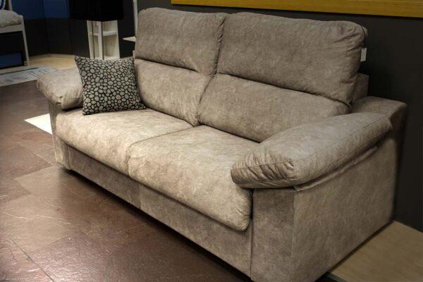 Sofá cama de cuero, 2 plazas