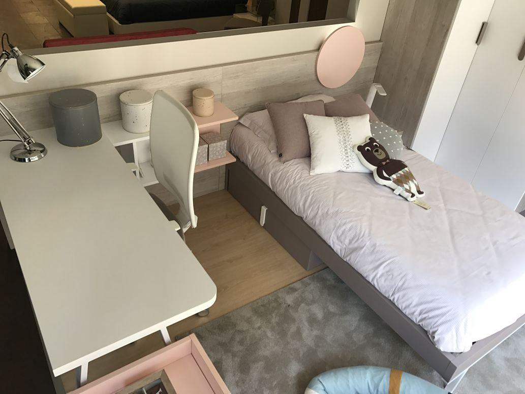 Dormitorio juvenil moderno de dise o tienda de muebles - Muebles en vitoria gasteiz ...