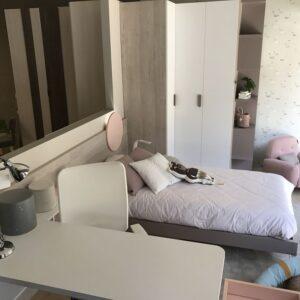Dormitorio juvenil moderno de diseño