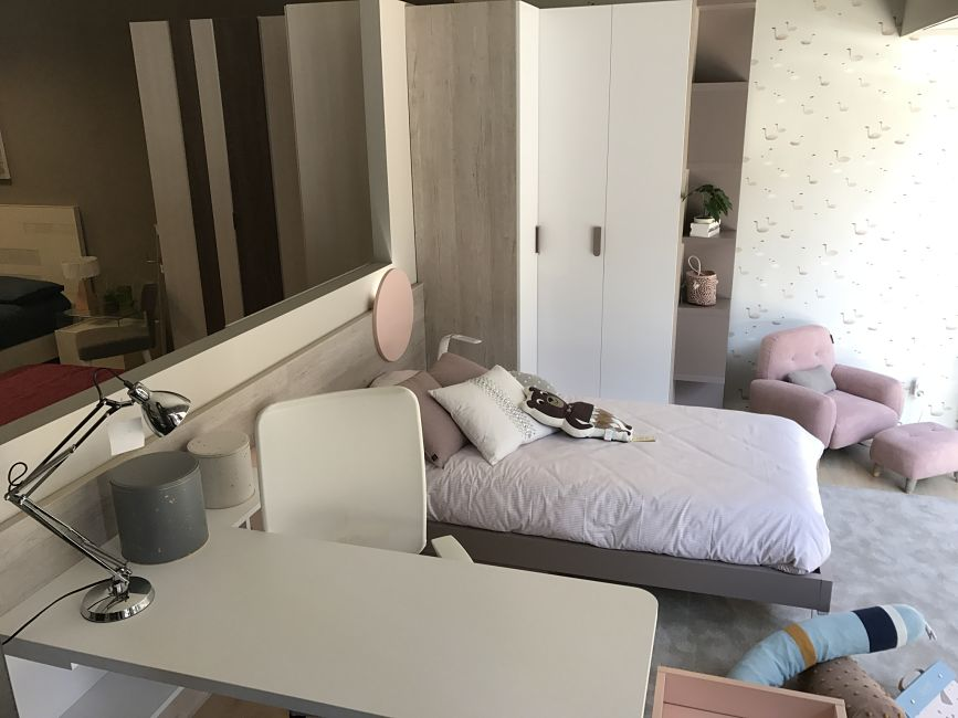 Dormitorio juvenil moderno de dise o alcon mobiliario - Dormitorio juvenil completo ...