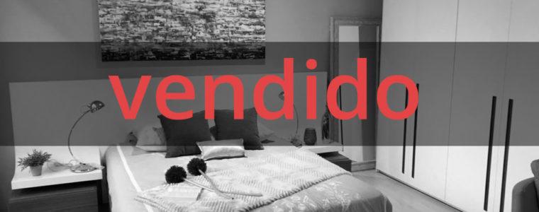 [VENDIDO] Dormitorio en nogal y laca blanca.