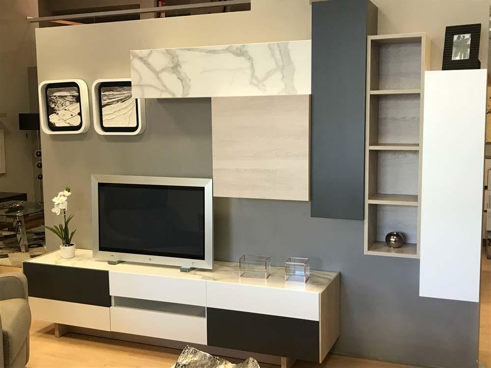 Mueble de sal n modular minimalista tienda de muebles en vitoria gasteiz lava alcon - Muebles en vitoria gasteiz ...
