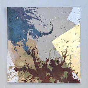 Cuadro abstracto decoración