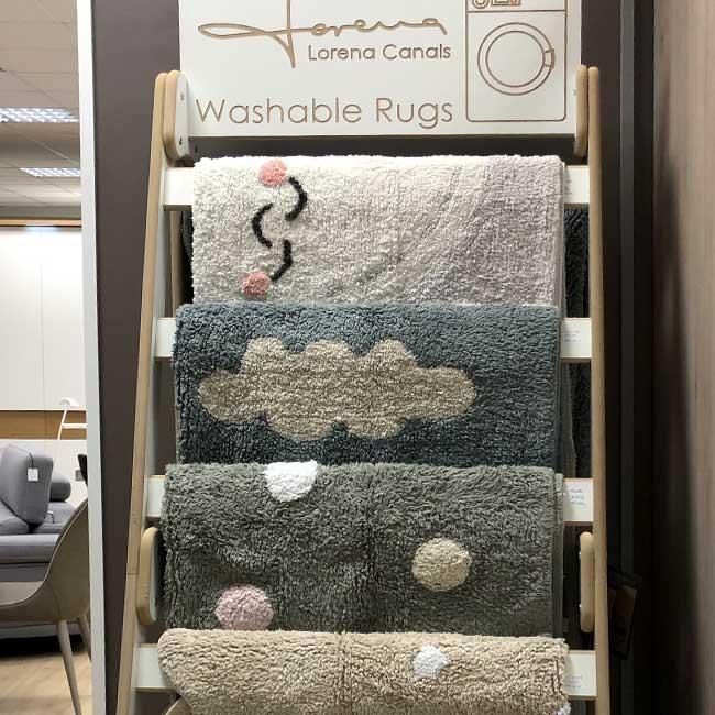 Decoración de alfombras en Vitoria Gasteiz. Alcon Mobiliario.