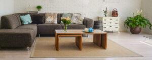 Cómo elegir una mesa de centro de salón. Mesas de centro en Vitoria-Gasteiz.
