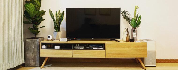 Elegir mueble de televisión, guía útil